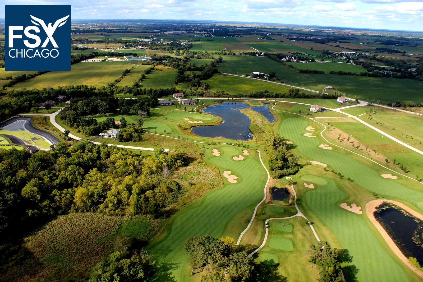 Golf Course - Aerial Photography - Call 708-299-8246